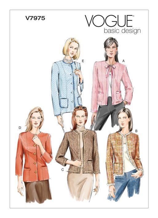 V7975 | Vogue Patterns