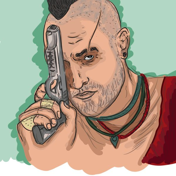 Far Cry 3 Unfinished by Andrés Carrasco, via Behance  #videogames #gaming #ubisoft #farcry3 #vaasmontenegro #fanart
