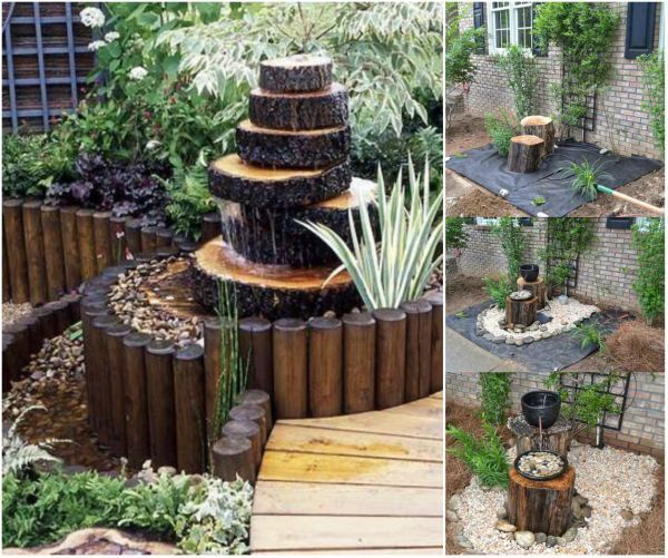 16 Stunning And Unique DIY Rustic Log Decorating Ideas for Home and Garden