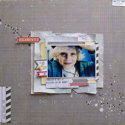 .:| Elle's Studio |:.: Make It Sunday with Allison WakenAllison Waken, Allisonwaken, Scrapbook Kits, Scrapbook For, Scrapbook Inspiration, Studios Calico, Studios Tutorials, Papercraft Projects, Photos Tutorials