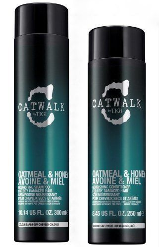 TIGI Catwalk Oatmeal and Honey Nourishing Duo Shampoo 300 ml   Conditioner 250 ml by TIGI >>> Want to know more, click on the image.