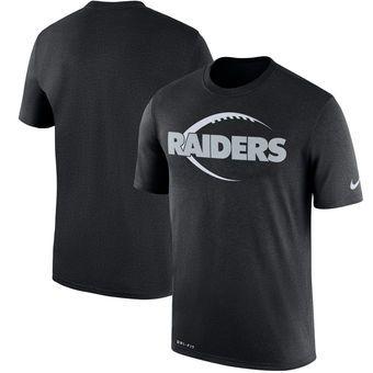Oakland Raiders Nike Legend Icon T-Shirt - Black