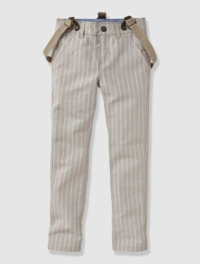 Boy's Special Occasion Trousers with Braces