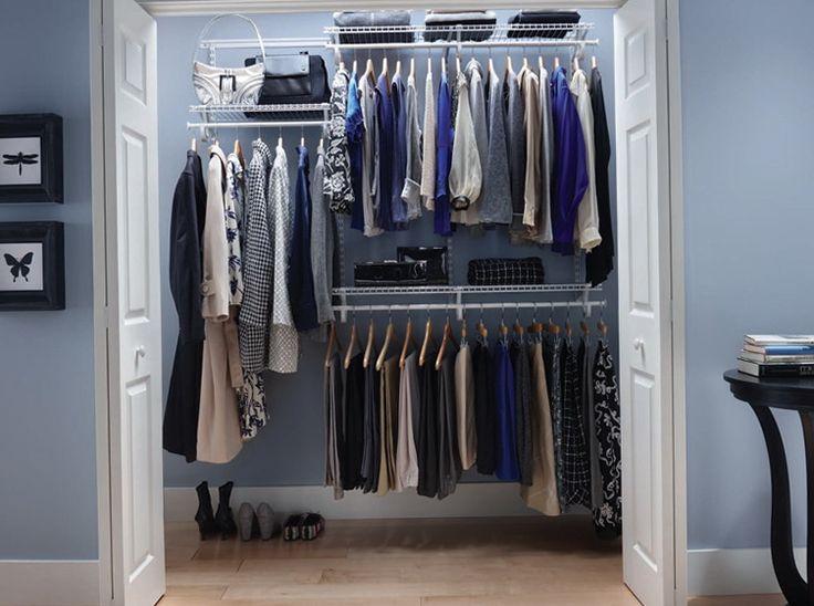 10 wire shelves design for your room closet designs. Black Bedroom Furniture Sets. Home Design Ideas