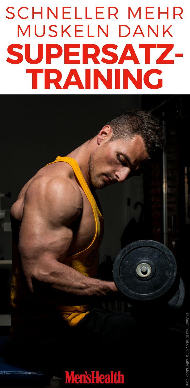 Mit Supersatz-Training schnell zu mehr Muskeln – Physic