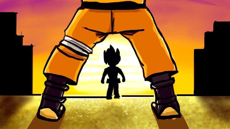 😈 Piadas sobre Naruto - TRETA MALIGNA COM DBZ!