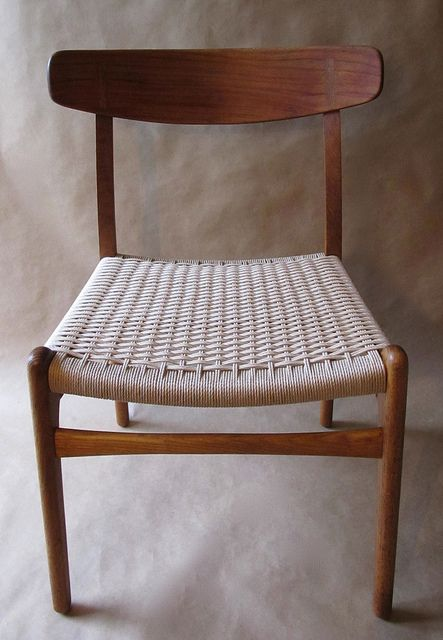 CH23 chair by Hans Wegner. This is the chair that my grandparents paired with the dining table for their life.