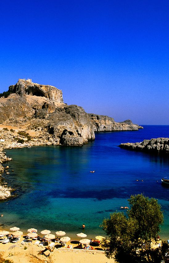 Agios Pavlos Bay, Rhodes, Greece