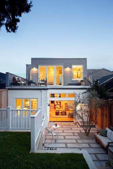 Beautiful eco-historical Victorian update.Feldman Architecture