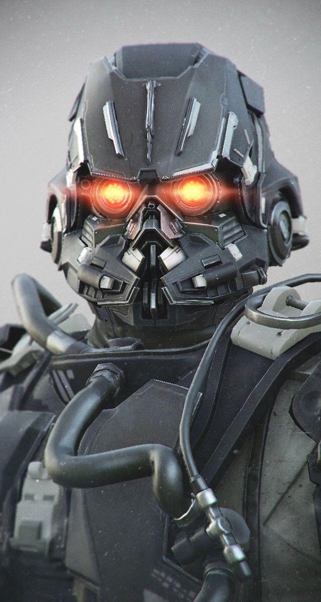 Killzone Shadow Fall - Helghast Trooper by Rudy Massar | Sci-Fi | 3D | CGSociety