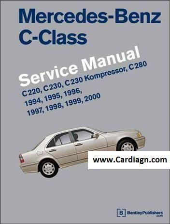 Mercedes Benz C Class W202 1994 2000 Service Manual Benz C Mercedes Benz C280 Mercedes Benz C220