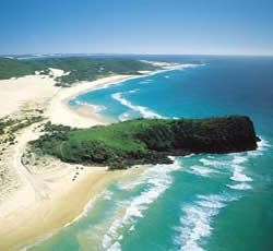 INDIAN HEAD, FRASER ISLAND. I climbed to the top and stared at the sea. I saw a turtle :)