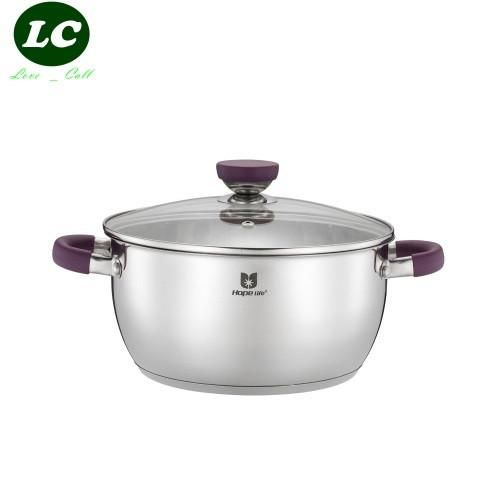 casserole 3 litre cooking tool silicone hand inox casserole baby pot stainless steel cooking pot SS#304