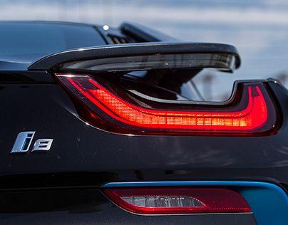 BMW i8, photo shoot for the portuguese magazine Turbo.