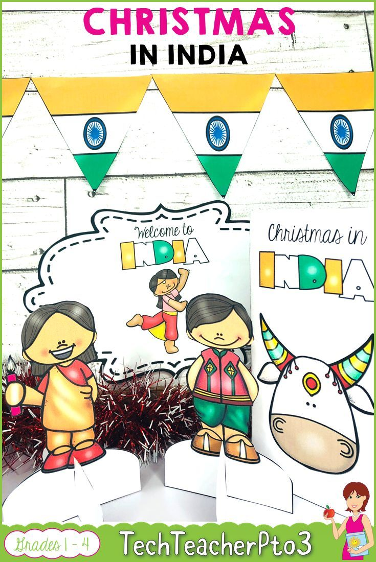 Christmas Around the World INDIA map traditions food flags ...