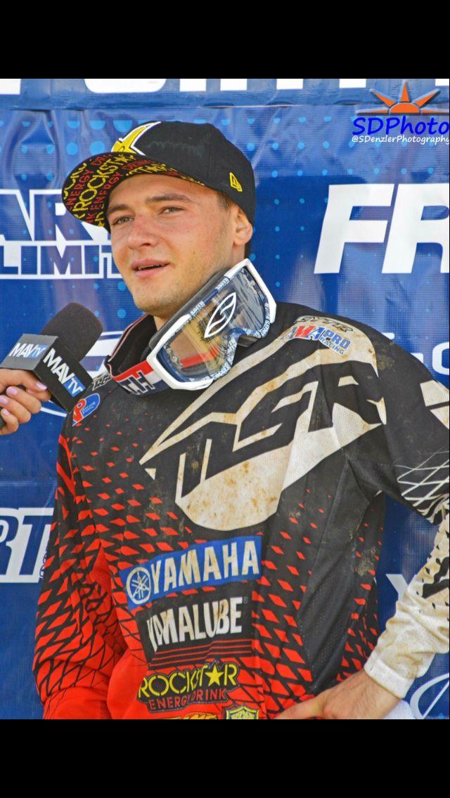Cooper Webb on the podium