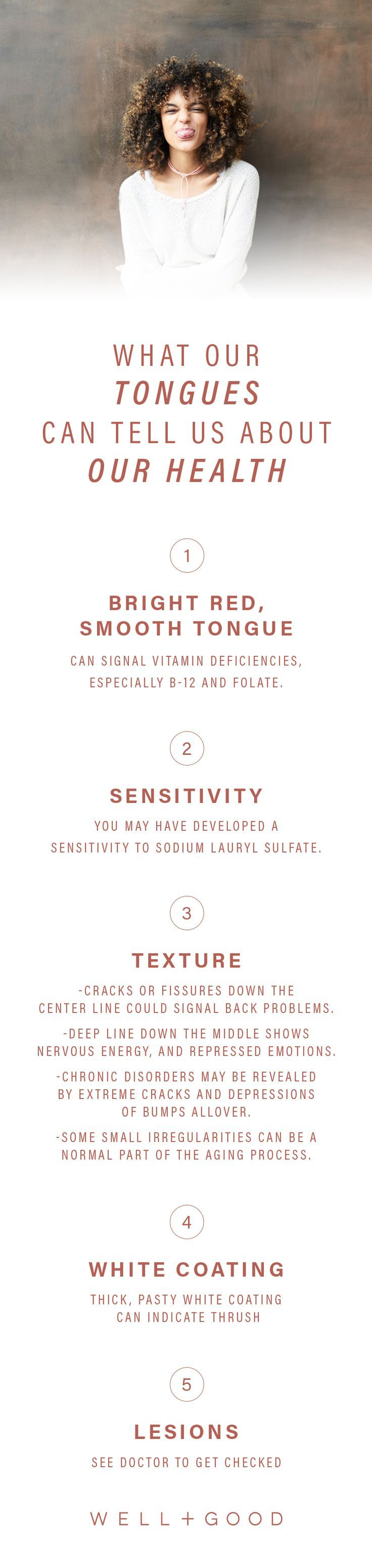 What your tongue says about your health    Health + Fitness Tips