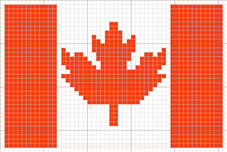 Luvs 2 Knit Canada Flag Canada Maple Leaf Olympics
