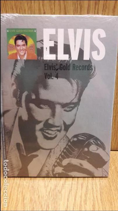 ELVIS PRESLEY. ELVIS GOLD RECORDS. VOL. 4. LIBRO CD - 18 TEMAS / PRECINTADO.