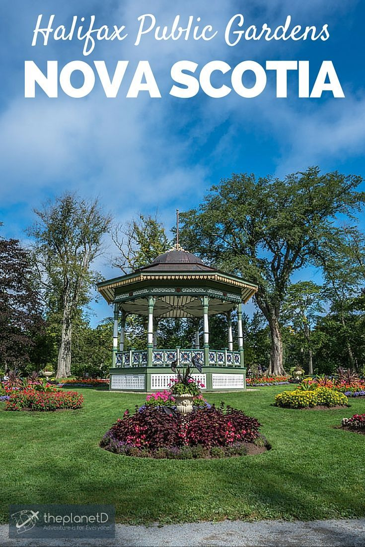 The Halifax Public Gardens in Nova Scotia | The Halifax Public Gardens are 16 acres of quiet solitude in the heart of the city | The Planet D Adventure Travel Blog:
