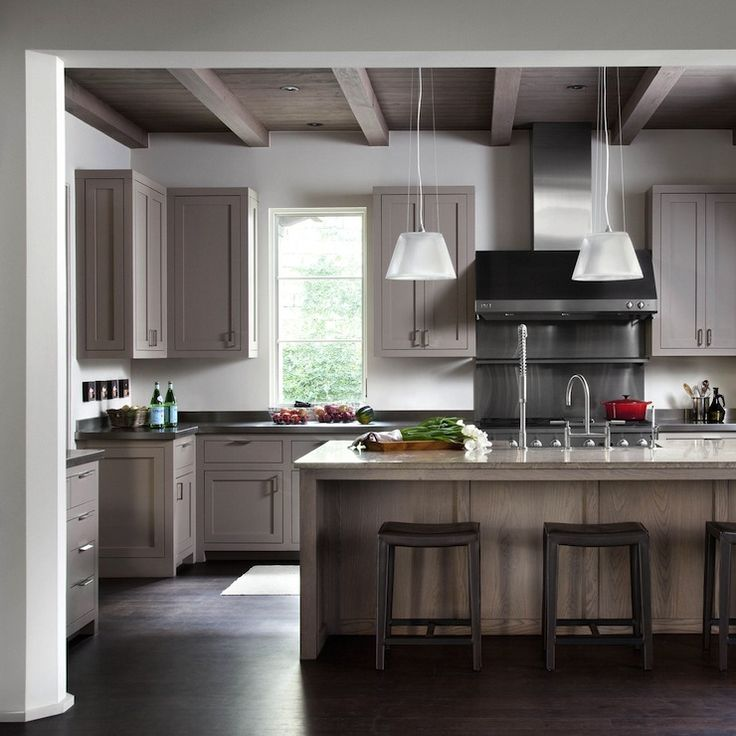 Modern White Oak Kitchen Cabinets: Best 25+ Taupe Kitchen Ideas On Pinterest