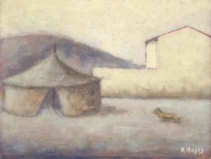 Ottone Rosai - Piazza del Carmine
