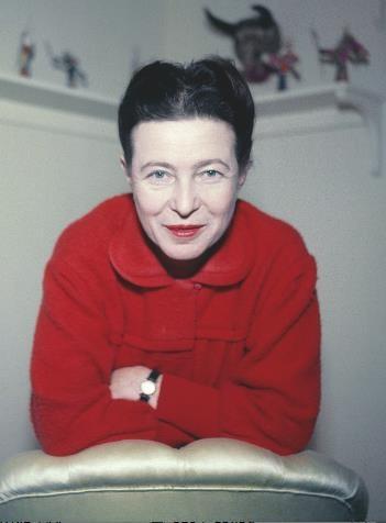 Simone de Beauvoir :Jack Nisberg/Roger-Violl
