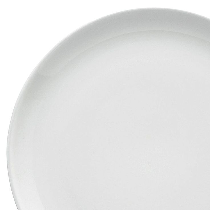 Outline contemporary style around your table with the designer quality of the Olio White Glaze Side Plate from Barber & Osgerby for Royal Doulton.