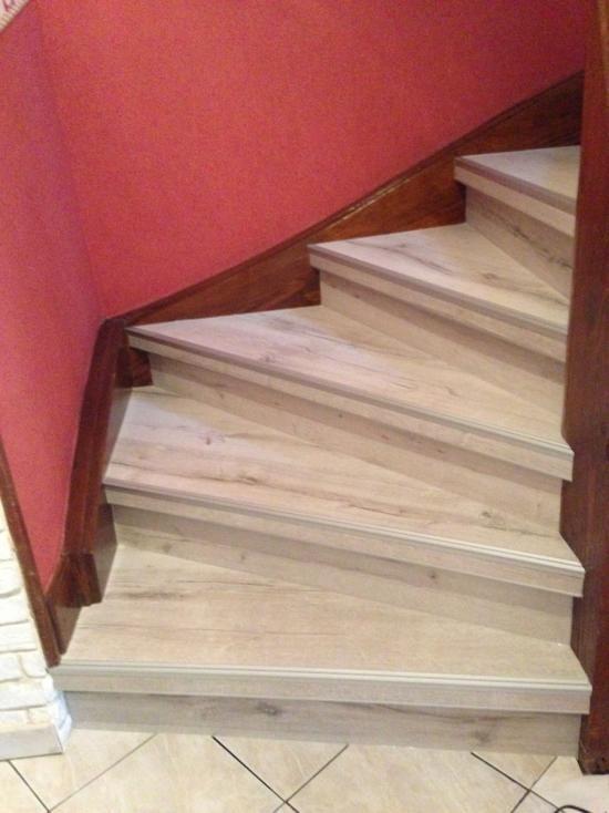Top Les 13 meilleures images du tableau relooking escalier bois sur  NX31