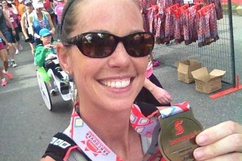 Scotiabank Vancouver Half Marathon 2014 Race Report. No matter what the finish time, we all still get the same medal! #slowisthenewfast #racereport #halfmarathon