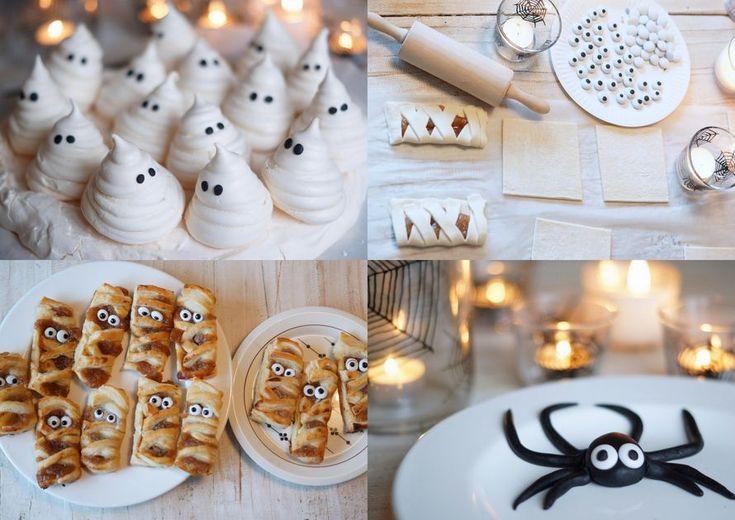 Kodin Kuvalehti – Blogit | Ruususuu ja Huvikumpu – Parhaat halloween -herkut! Valmista marenkikummitukset, hämähäkit ja muumiot etukäteen