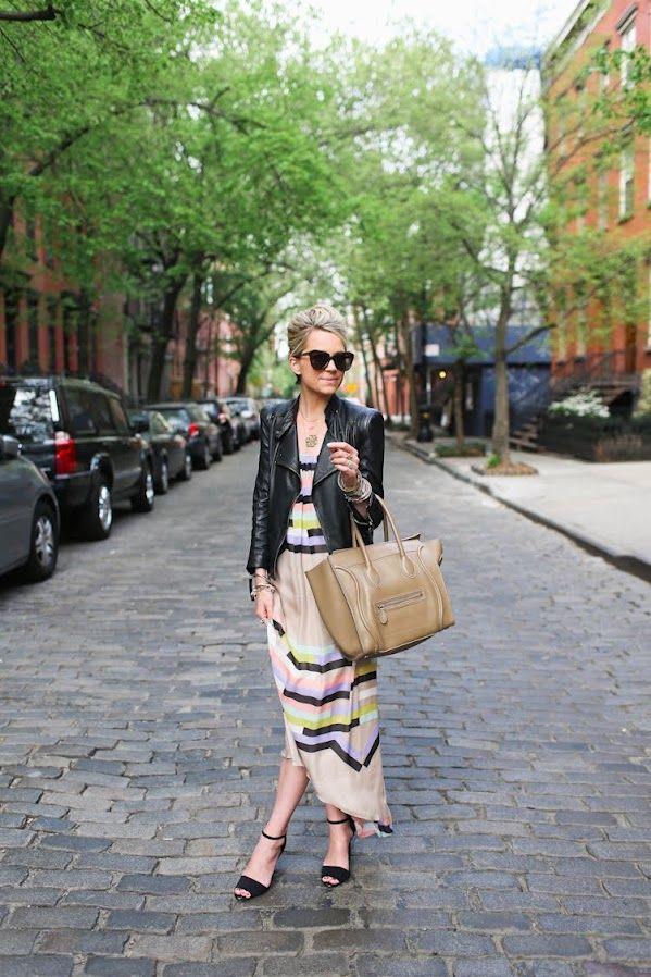 blair eadie: Long Dresses, Atlantic Pacific, Maxi Dresses, Fashion, Style, The Cities, Pastel Colors, Leather Jackets, The Dresses