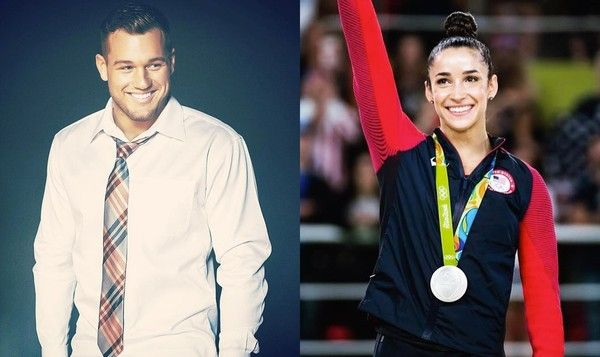 Aly Raisman Has Agreed to Go on a Date with Oakland Raiders Tight End Colton Underwood