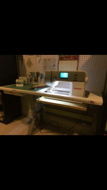 Sew Perfect Quilt Pro 2 shown with Bernina 770.