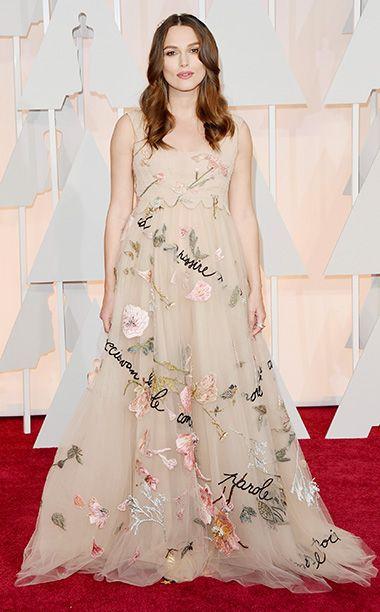 Keira Knightley - Academy Awards Red Carpet - Oscars 2015 - Follow us: www.facebook.com/LinksOverBros