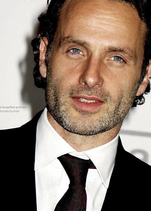 Andrew Lincoln- Rick from Walking Dead. Those blue eyes are spectacular!