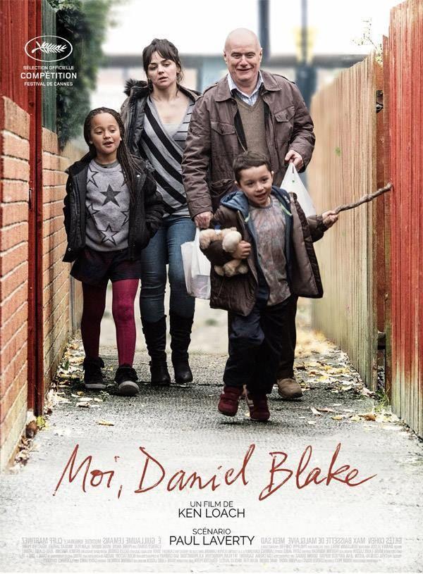 Moi Daniel Blake est un film juste , dur et assez sombre sur la condition des travailleurs au RU