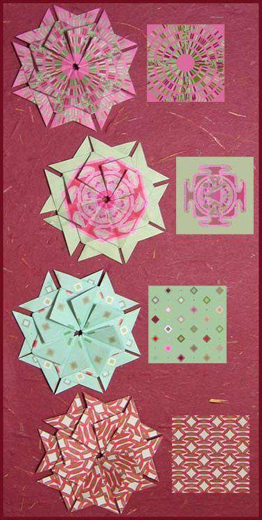 Teabag folding | Craft Maniacs: What is Tea-Bag Folding?