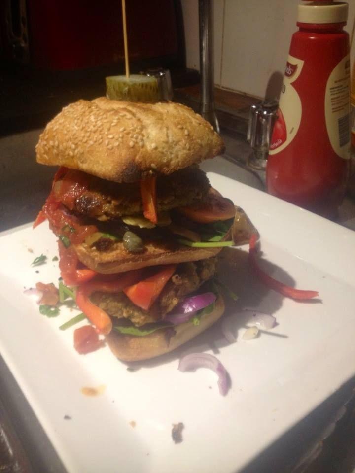 Nic's Vegan Burger