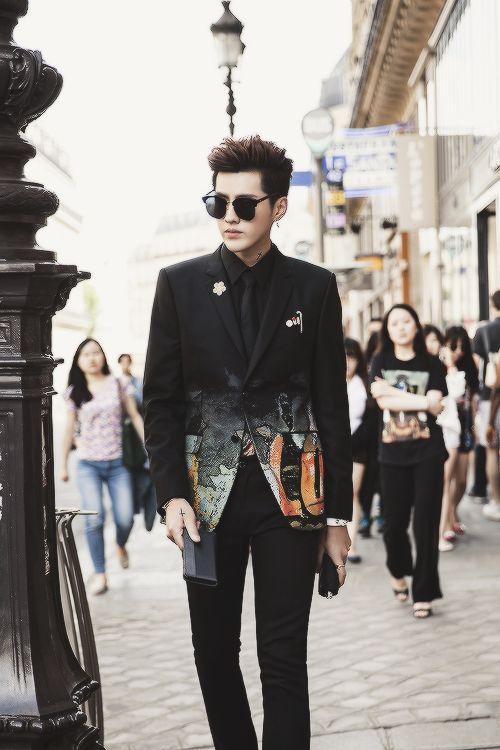 Of course Wu Yi Fan must be in my fashion board                                                                                                                                                                                 More