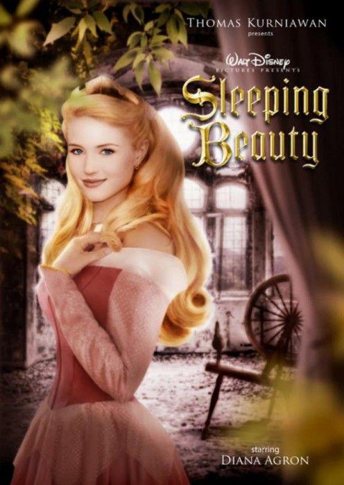 Diana Agron es Bella Durmiente