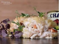 Cangrejo Ruso Chatka 15% patas. Exquisita carne jugosa de cangrejo Real Ruso.