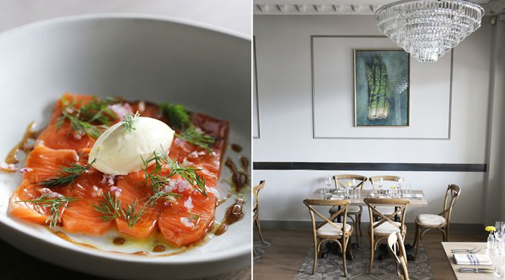 Gin-cured Salmon @ Paris Butter | 166 Jervois Rd, Herne Bay