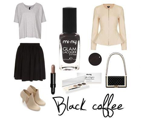 BLACK COFFEE A mix of black and brown! Per chi adora il nero, MI-NY ha creato la collezione BLACK. Per la prima volta il nero si unisce ad altri colori creando tonalità ricercate e dando un tocco di originalità alle nostre Nails! SHOP ONLINE http://www.minyshop.com/it/78-nero  #nails #coffee #brown #black #outfit #moda #fashion #style #cool #girls #color #miny #minycosmetics