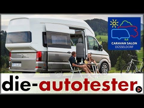 Caravan Salon 2017: Weltpremiere VW California XXL | 2017 | Auto | Deutsch - YouTube