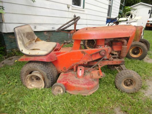 Old Sears Riding Lawn Mowers     Vintage lawn tractors