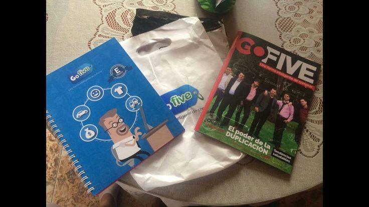 El Kit de inicio es el primer escalón en tu carrera como empresario #Gofive #YoSoyGofive