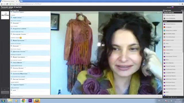 Мыльная среда, выпуск 16.  Гость встречи - мастер Ирена Левкович, о показе своей коллекции на неделе моды в Вашингтоне.