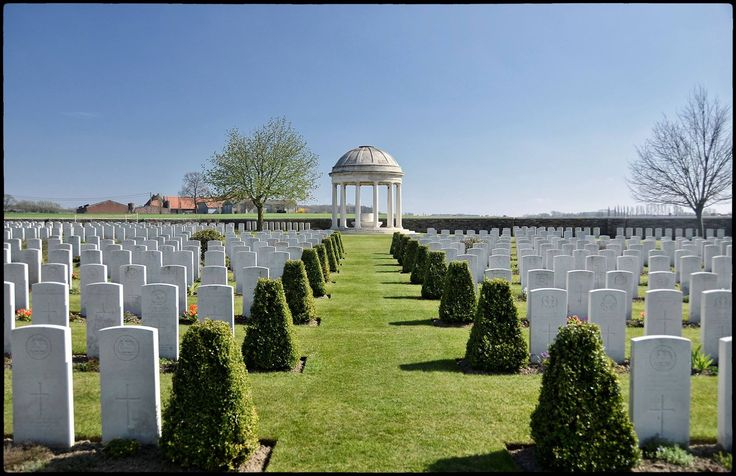 Canadian war cemetery France