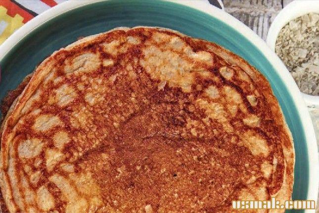 Рецепт Ржаные блины на простокваше фото